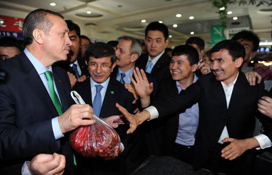 Erdoğan'ın Urumçi Ziyareti Resimleri ile ilgili görsel sonucu