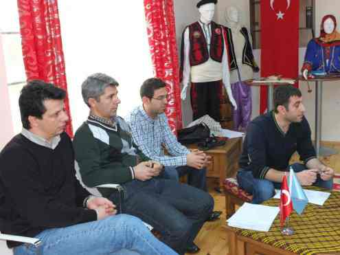 Doç. Dr. Selçuk Koç, Dr. Bayram Çolakoğlu, Ragıp Çavuş ve Mehmet Baydemir