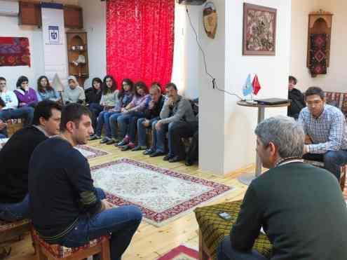 Öğrencilerle yapılan istişare toplantısı