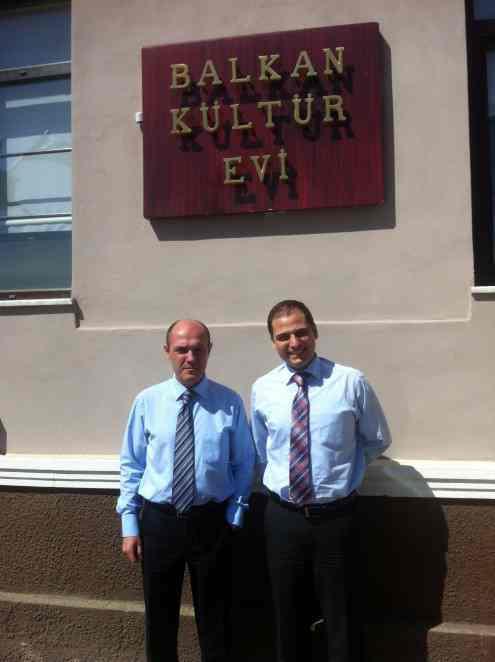 Bulgaristan'ın İstanbul Başkonsolosluğundan Konsoloslar Todor Petrov ve Radoslav Gergov