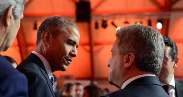 İvanov'dan Obama'ya: Makedonya Derhal NATO'ya Üye Olsun