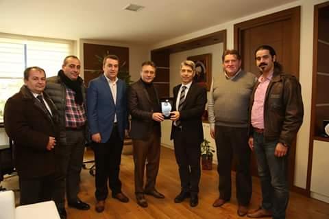 Bal-Türk'ten Çayırova Belediye Başkanına Ziyaret