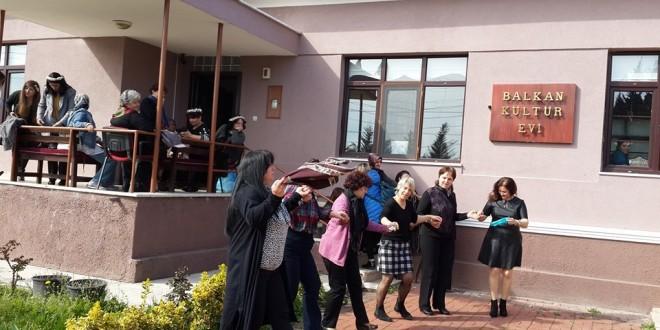 Bal-Türk Dünya Kadınlar Gününü Balkan Kültür Evi'nde Kutladı