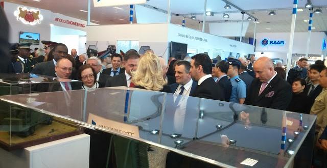 Filibe'deki Hemus 2016 Askeri Sanayi Fuarı'na altı Türk şirketi katılıyor