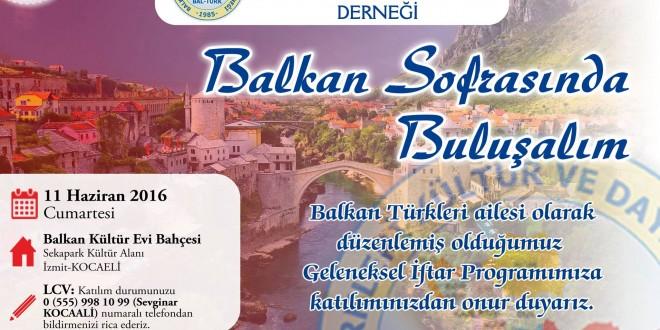 Balkan Sofrasında Buluşalım