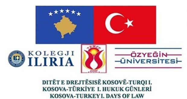 """""""Kosova – Türkiye Hukuk Günleri"""" başlıyor"""