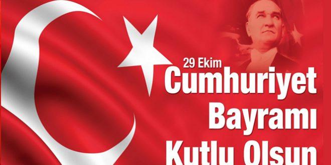 29 Ekim Cumhuriyetimizin 94. yıldönümü